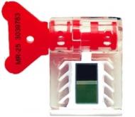Роторная пломба с индикатором магнитного поля